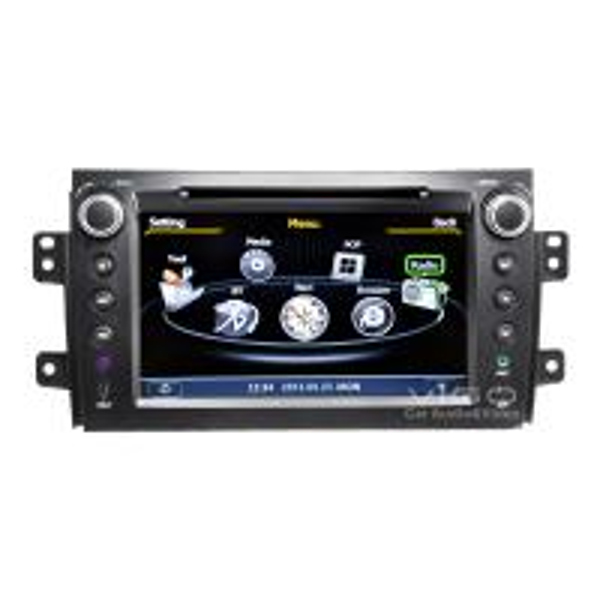 Autoradio For Suzuki SX4 GPS Navigation Sat Nav DVD CD