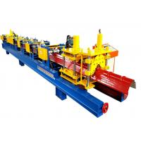 Buy cheap Galvanized Aluminum Steel Cold Roll Forming Equipment , Metal Forming Machines Long Lifespan product