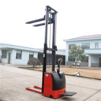 Best Automatic Ride On Pallet Stacker AC Motor 1500kg Customised Yellow Color wholesale