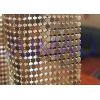 Best 3 Mm Dark Gold Metal Flake Fabric Shrink Proof Interior Decoration Table Cloth wholesale