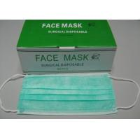 Best Fabric Paper Air Filter Face Mask SurgeonWithEar LoopTies Disposable Medical Non Woven wholesale