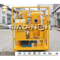 Best Mobile 	Transformer Oil Filtration Machine High Vacuum Pressure For Power Transformer Oils wholesale