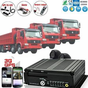China 3G 4G WIFI Mobile Car DVR GPS playback Mdvr on sale