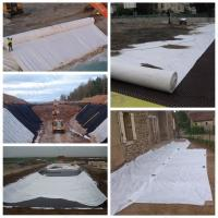 Best High Construction Nonwoven Geotextile Fabric , Needle Punched Geotextile Weed Barrier wholesale