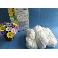 Buy cheap Raw White TFO 100% Polyester Staple Fiber Eco - Friendly Hank Yarn ISO9001 2008 product