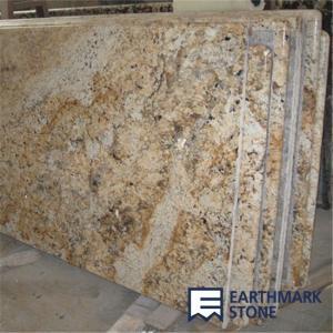 Best Crystal Yellow Granite Countertop wholesale