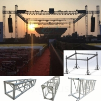 Best Concert Wedding Event TUV Aluminum Roof Truss System With Stage wholesale