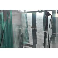 China Fencing French Green Laminated Security Glass With High Temperature on sale