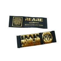Best Custom Embroidered Plain Clothing Woven Labels, Name Label For Bags, Shoes, Hats, Gloves wholesale