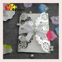 China Metallic paper silver color popular laser cut invitation cards,wedding invitaiton cards,greeting cards,birthday cards on sale