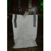 China Durable White PP Box FIBC Jumbo Bags Woven Polypropylene Container For Ore on sale