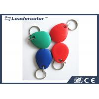 Buy cheap Red Printing EM4001 125Khz RFID Key Tag For Access Control System product