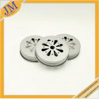 wholesale 38mm mason daisy cut lid