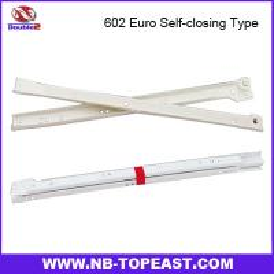 China 602 Euro Self-closing Type Drawer Slide on sale
