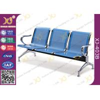 Best Hospital Iron Structure Full Welding 3 Seater Waiting Chair With Cushion wholesale