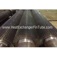 Buy cheap OD 4'' X SCH80 Welded Serrated Fin tube , SA335 P11 / P22 / P91 product