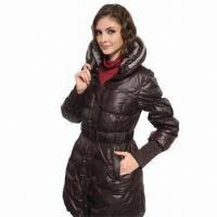 Best Women's down coat with waistband wholesale