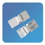 Best Custom Adjustable Plastic Nylon White Swinging Bifold Freezer Door Hinge With OEM wholesale