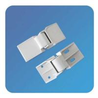 Custom Adjustable Plastic Nylon White Swinging Bifold Freezer Door Hinge With OEM