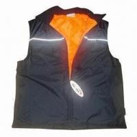 Best Sleeveless Work Vest with 65% Polyester and 35% Cotton Outer Shell wholesale