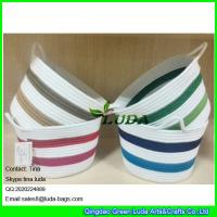 Best LUDA small custom fabric bag colorful sewing coil rope basket wholesale