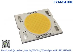 Best Solderless Tunable White COB LED 2800K-6000K 15W Bi-color COB CRI90 wholesale