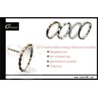 Best Fashion ion wristband magnetic titanium bracelets at factory price GT-054 wholesale