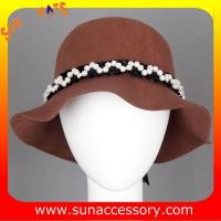 Best 6090347 Sun Accessory customized  winner  fashion 100% wool felt clothe hats, women hats and caps wholesaling wholesale