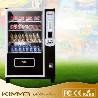 China Bulk candy / gumball / cool drinks Healthy Snack Vending Machines LED screen on sale