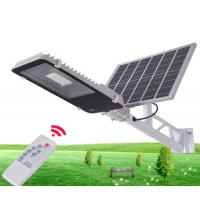 Best Durable Solar Powered LED Street Lights / Solar Street Lamp With Remote Control wholesale