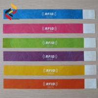 Best Fashion Wearable RFID Paper Wristband for Sports Event wholesale