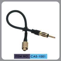 China 3c-2v Copper Car Antenna Extension Cable , Am / Fm Radio Antenna Cable on sale