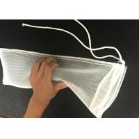 Best 2*6 Inch 120 Micron Aperture Nylon Mesh Filter Bags With Long Thread wholesale