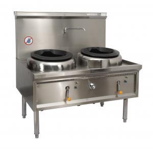 Best Commercial Hotel Kitchen Equipment Stainless Steel Wok Burner/ Cast iron ring Gas Wok Burner Range wholesale