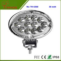 Best 36W Oval Shape LED Working Lamp for SUV and MPV wholesale
