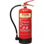 Best 6 Litre Foam Fire Extinguisher Inner Painting PVC Rubber Nozzle For Computer Room wholesale