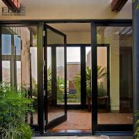Best Double Access Aluminum Entrance Door / Thermal Break Aluminium Swing Door wholesale