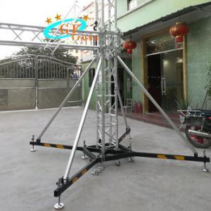 Best 290*290mm Aluminum Spigot Stage Truss For Outdoor Exhibition wholesale