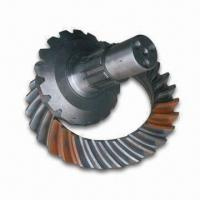 Cheap Truck Parts/Pinion and Crown Wheel, Made of Steel, with 38/9 Gear Ratio for sale