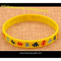 Best Wholesale custom logo silicone wristbands rubber bracelet as your design wholesale