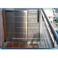 304 Perforated Stainless Steel Sheet / Stainless Steel Perforated Plate 2B Finish