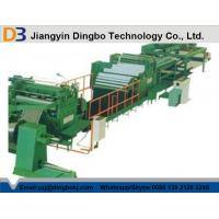 Best PLC Control Leveling Steel Coil Cut To Length Machine Line With Hydraulic Decoiler wholesale