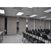 Best Conference Room Sliding Folding Partitions Movable Walls For Art Gallery wholesale