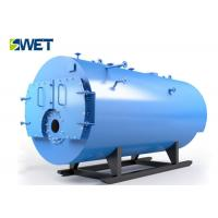 China Double Drum Industrial Water Tube Boiler , Gas Fired Fuel Longitudinal Drum Boiler on sale
