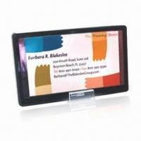 Buy cheap Logo Changeable Blank Solar Photo Frame with Low Consumption IC from wholesalers