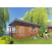 China Wood Like Steel Frame Modular Homes With Good Thermal Insulation Ability on sale