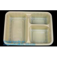 Best Compartments food grade blister plastic frozen and microwave dumpling tray,Packing Tray Disposable Food Plastic Package wholesale