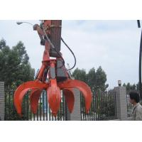 Buy cheap 5 Cylinders Excavator Grapple , Hydraulic Orange Peel Grapple product