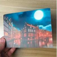 Best OK3D printing factory supply Good Quality Custom Offset Printing Plastic PET Lenticular 3D lenticular card wholesale