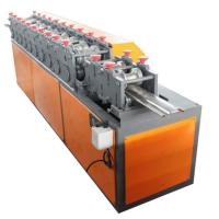 China Plc Rolling Up 15m/Min Shutter Door Machine With Embossing Device on sale